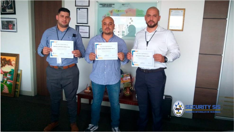 Colaboradores de SECURITYS SIS reciben certificación en «Gerencia de Proyectos» por parte de ALAS.